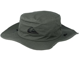 Bushmaster Green Traveller Hat - Quiksilver