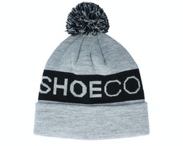 Chester Youth Beanie Frost Gray Pom - DC