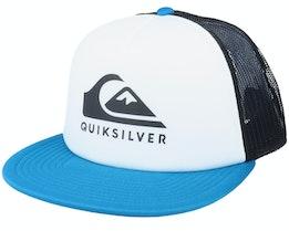 Foamslayer White/Blue/Black Trucker - Quiksilver