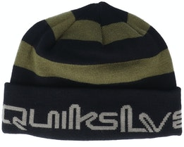 Panwaffle Black/Olive Cuff - Quiksilver