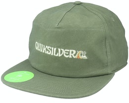 Sustain To Remain Four Leaf Clover Snapback - Quiksilver