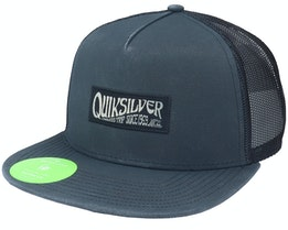 Crystal Clear Black Snapback - Quiksilver