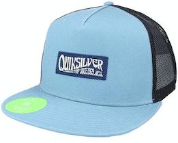 Crystal Clear Citadel Blue Snapback - Quiksilver