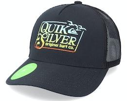 Clean Mess Black Trucker - Quiksilver
