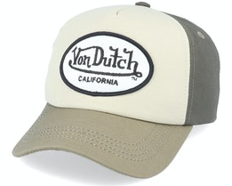 Oval Patch Toi Khaki/Olive Adjustable - Von Dutch