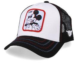 Disney Mickey White/Black Trucker - Capslab