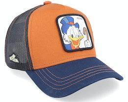Disney Scrooge McDuck Brown/Navy/Black Trucker - Capslab