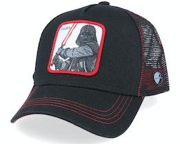 Starwars Darth Vader Black Trucker - Capslab