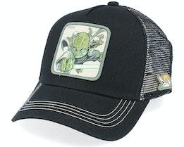 Starwars Yoda Black Trucker - Capslab
