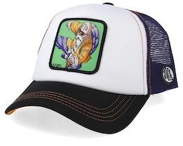 Dragon Ball Kame White/Purple/Black Trucker - Capslab