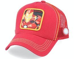 Marvel Iron Man Red Trucker - Capslab