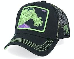 Marvel The Hulk Black Trucker - Capslab