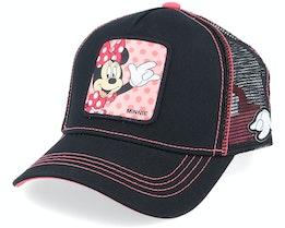 Disney Minnie Mouse Black/Pink Trucker - Capslab