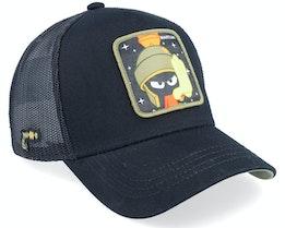 Looney Tunes Marvin the Martian Black/Black Trucker - Capslab