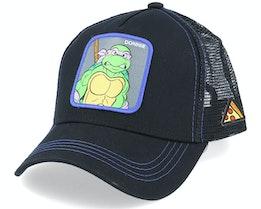 Ninja Turtles TMNT Donatello Black Trucker - Capslab