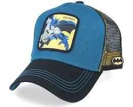 Dc Comics Batman Blue/Black Trucker - Capslab