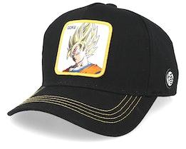 Dragon Ball Goku Super Saiyan Black/Black/Yellow Adjustable - Capslab