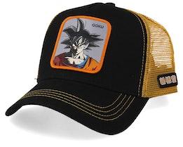 Dragon Ball Goku Black/Orange Trucker - Capslab