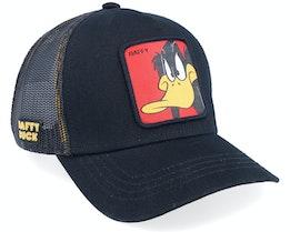Looney Tunes Daffy Duck Black/Black Trucker - Capslab