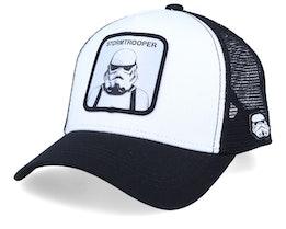 Starwars Stormtrooper White/Black/Black Trucker - Capslab