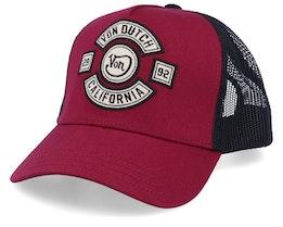 California Bordeaux/Black Trucker - Von Dutch