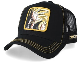 Dragon Ball Gotenks Black/Black/Yellow Adjustable - Capslab