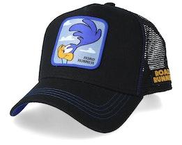 Looney Tunes Road Runner Black/Black/Blue Trucker - Capslab