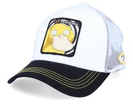 Pokemon Psyduck White/Black/White Trucker - Capslab