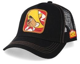 Looney Tunes Speedy Black/Black Trucker - Capslab