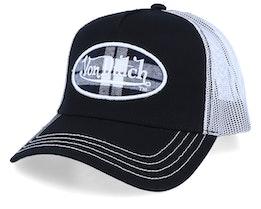 Oval Patch Black/White Trucker - Von Dutch