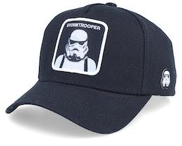 Starwars Stormtrooper Black/Black Adjustable - Capslab
