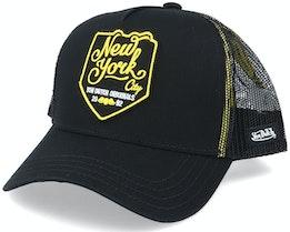 New3 Black/Yellow Trucker - Von Dutch