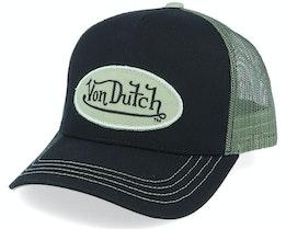 Oval Patch Black/Army Trucker - Von Dutch
