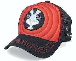 Looney Tunes Bugs Bunny Red/Black Trucker - Capslab