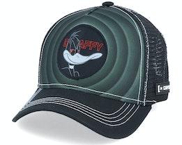 Looney Tunes Daffy Black Trucker - Capslab