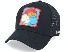 Looney Tunes Elmer Black Trucker - Capslab