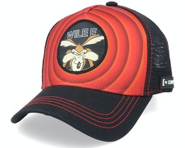 Looney Tunes Wile E Coyote Red/Black Trucker - Capslab