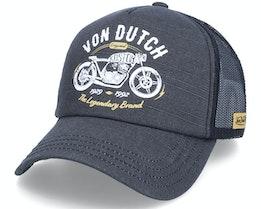 Crew9 Vintage Black Trucker - Von Dutch