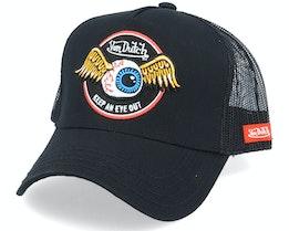 Flying Eye Black Trucker - Von Dutch