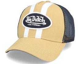 Stripes Mustard Trucker - Von Dutch