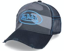 Camo/Blue Trucker - Von Dutch