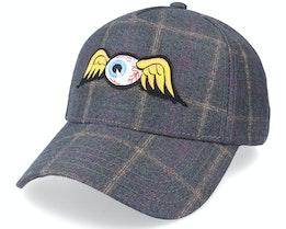 Flying Eye Tweed Grey Adjustable - Von Dutch