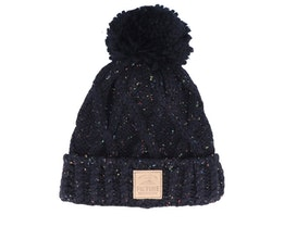 Haven Black Neps Knitted Pom - Picture