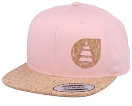 Narrow 2 Pink/Cork Snapback - Picture
