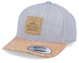 Harlow Grey Melange/Cork Adjustable - Picture
