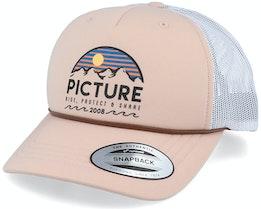 Kuldo Peach Pink/White Trucker - Picture