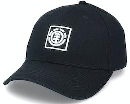 Treelogo Cap Flint Black Adjustable - Element