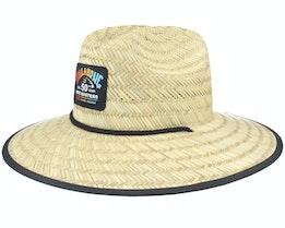 Pipe Tides Natural Straw Hat - Billabong