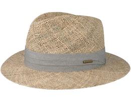 Seagrass Traveller Beige/Grey Straw - Stetson