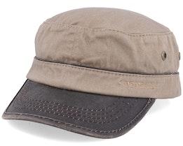 Cap Cotton Khaki/Brown Army - Stetson